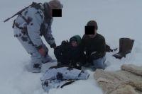 В Оренбуржье спасли замерзающих нарушителей границы.