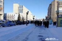 Эвакуация из здания по адресу Тарская, 11.