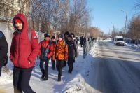 Учеников школы № 128 эвакуировали сегодня днём.