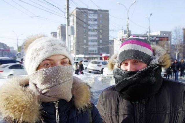 Начало февраля будет очень холодным.