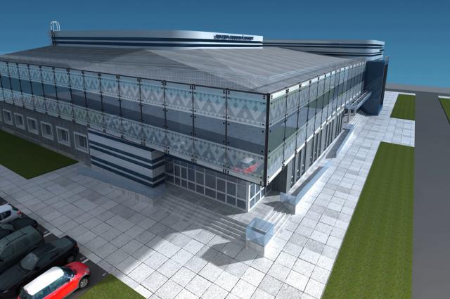 В Красноселькупе возобновили строительство культурно-спортивного комплекса