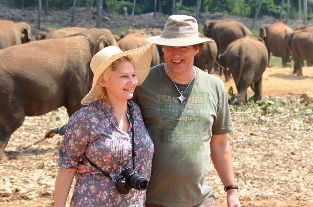 Супруги-фотографы в Шри-Ланке.