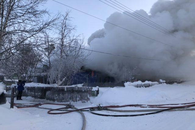 В Ноябрьске погорельцам из поселка СМП-369 предоставлено жилье
