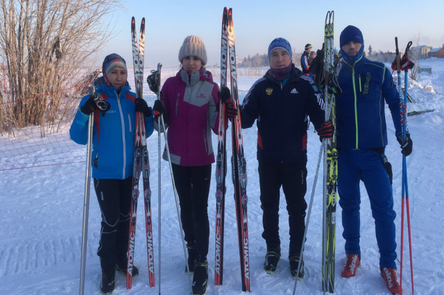 В зимних спортивных сельских играх приняли участие более 40 ямальцев