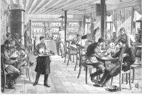 Чайная Санкт-Петербургского общества трезвости, 1892 год.