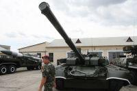 Танк Т-84У «Оплот» Вооруженных сил Украины.