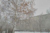 В Тюмень идет снегопад