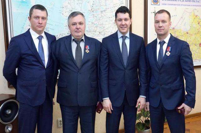Начальника УМВД наградили орденом «За заслуги перед Калининградской областью»