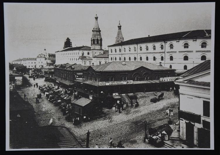Лавки купца Курманаева были построены в 1872 году.