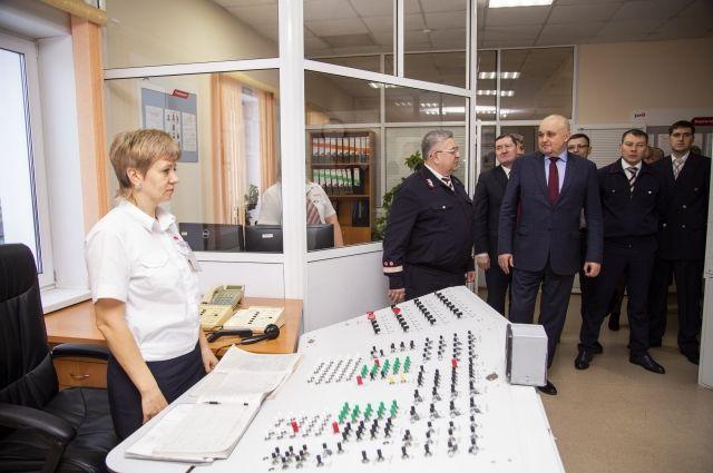 Сергей Цивилев посетил станцию Проектная, а также другие объекты, связанные с этой углепогрузочной точкой.