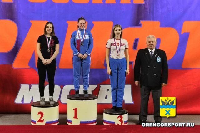Оренбурженка заняла второе место на Первенстве России по пауэрлифтингу