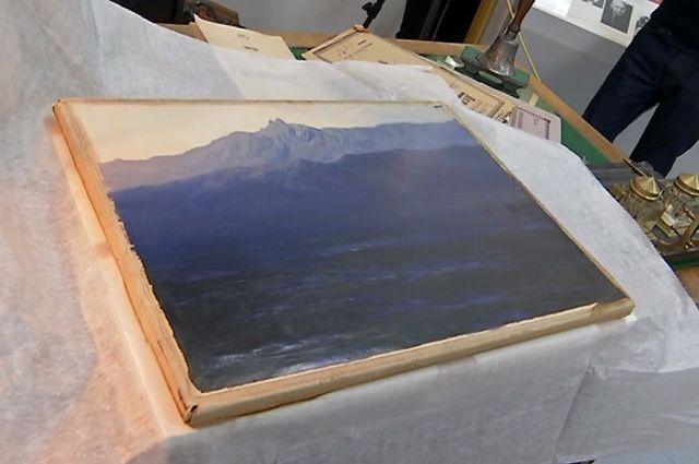 Картину «Ай-Петри. Крым» вернули в Третьяковскую галерею photo