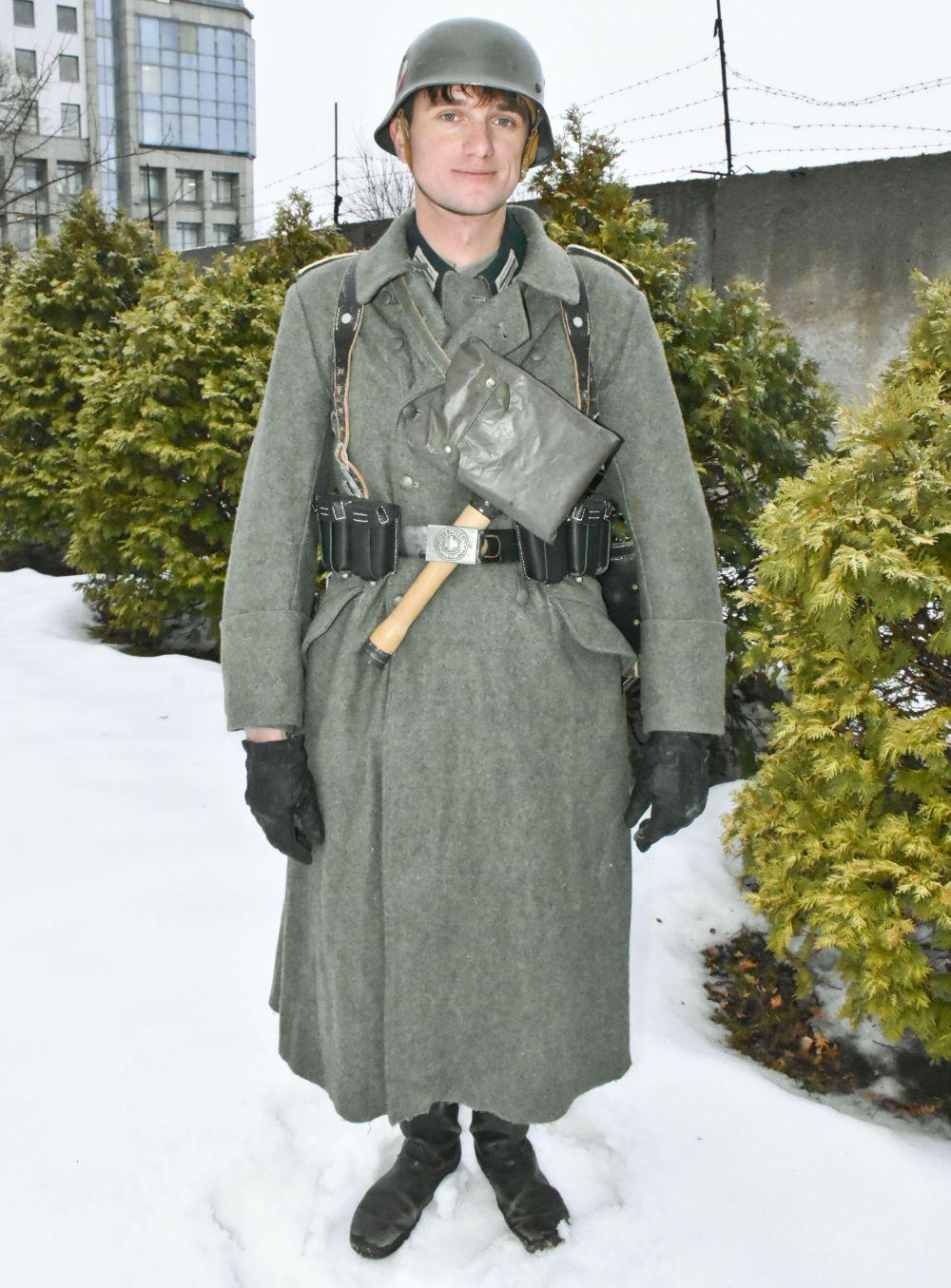 Так выглядела форма немецких солдат.