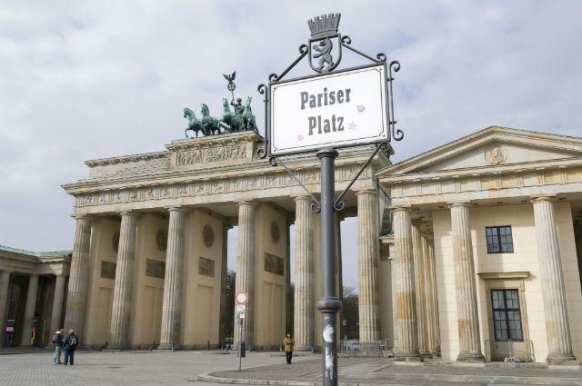 Брандербургские ворота, Берлин, архив