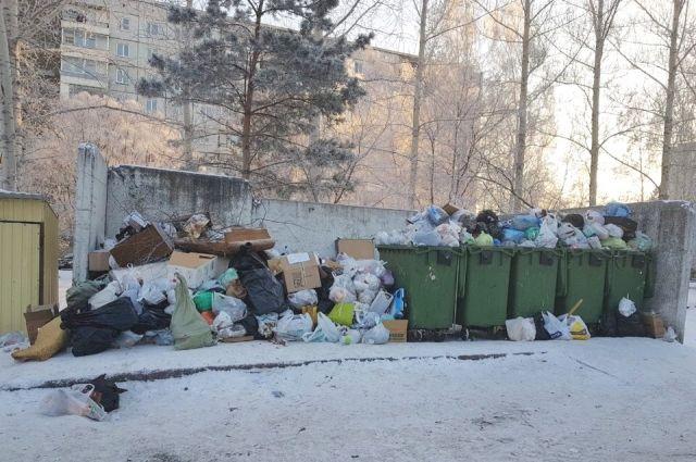 После того, как избрали нового регопреатора «Экология Новосибирск», мусор перестали вывозить.