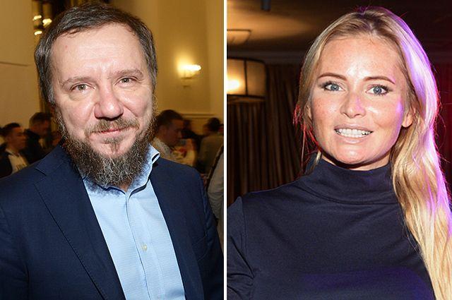Михаил Гребенщиков и Дана Борисова.