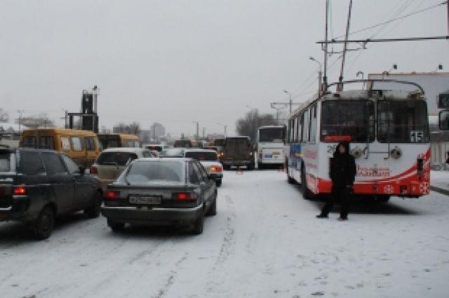 Сейчас в Красноярске стоят сильные морозы.