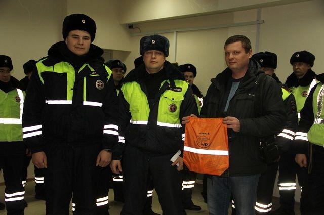 ГИБДД помогли водителю добраться до больницы