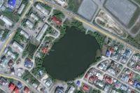 Салехардцы решают, как благоустроить «Лебяжье озеро»
