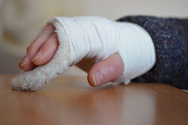 С начала зимы в Ишиме с травмами госпитализировали более 140 человек