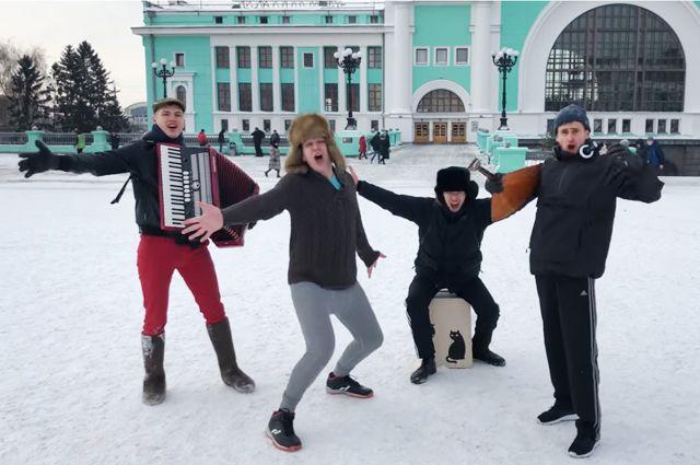 Клип снимали во время морозов, поэтому старались исполнить песню без лишних дублей.