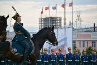 На службу в Президентский полк отобрали 15 тюменцев