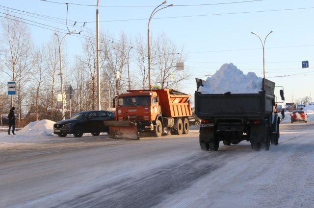 С начала сезона дорожники вывезли с улиц города более 1,1 млн кубометра снега.