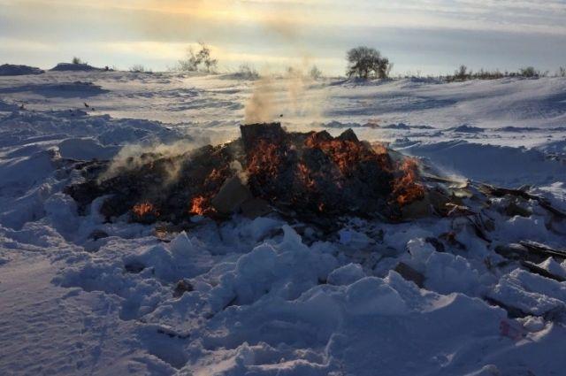 В Оренбургской области уничтожен контрафакт на сумму 6,5 млн рублей.