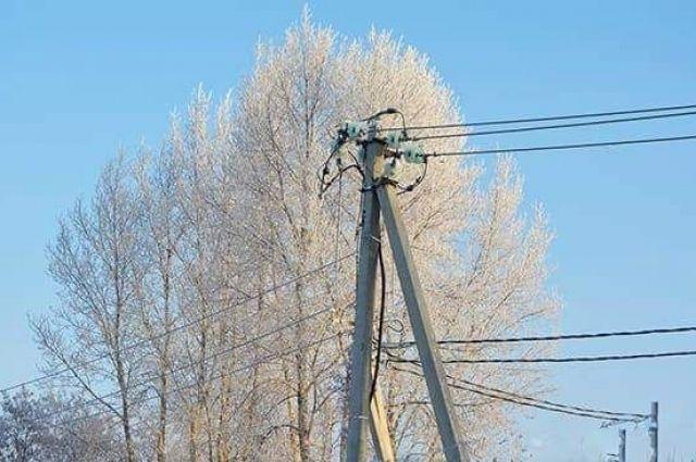 В регионе установились сильные морозы, температура в ночное время опускается до - 45 градусов.