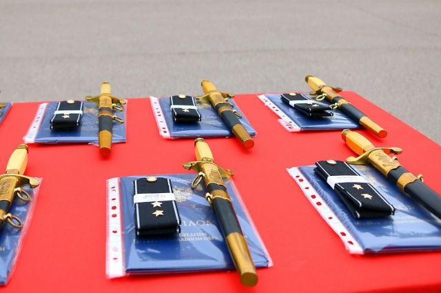 В Филиале Военно-морской академии состоялся 20-й выпуск мичманов