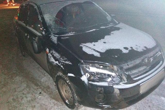 66-летний водитель автомобиля «Лада-Гранта» совершил наезд на 56-летнюю женщину.