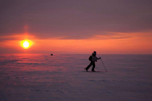 Участникам «Лыжни России» стоит одеться потеплее.