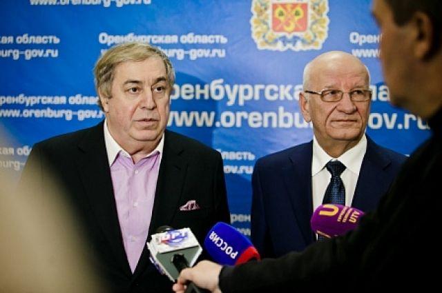 Оренбург с рабочим визитом посетил Михаил Гуцериев.