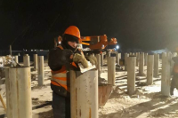 В селе Гыда приступили к строительству нового пожарное депо
