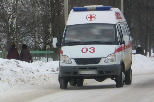 Подростка доставили в больницу.