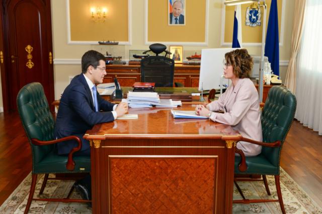 На Ямале обсудили приоритеты налоговой политики в регионе