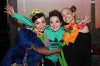 Участницы «Comedy Woman» Екатерина Варнава, Наташа Медведева иНадя Сысоева. 2010 г.