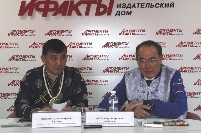 Виталий Балтаев и Александр Амагзаев.