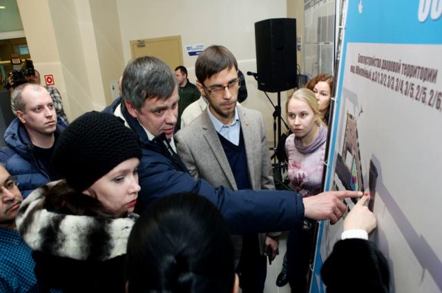 Новоуренгойцы обсудили дизайн-проекты благоустройства