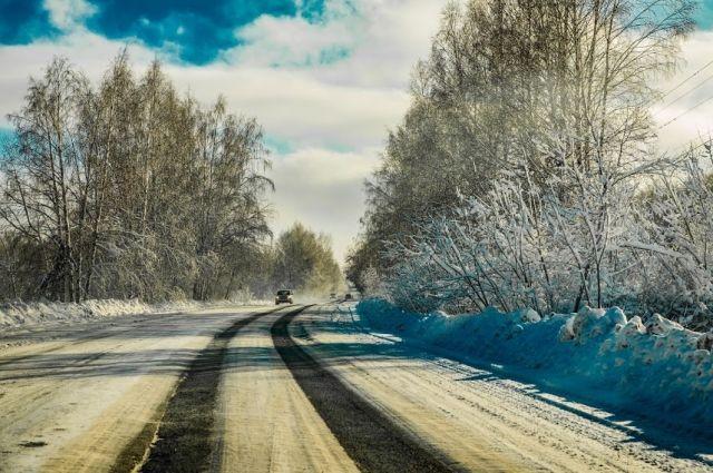 В Омской области перекрыли дороги в Казахстан