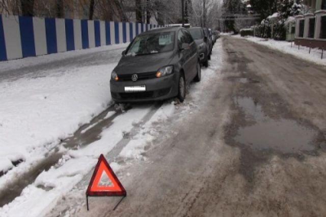 80-летний водитель скрылся с места ДТП
