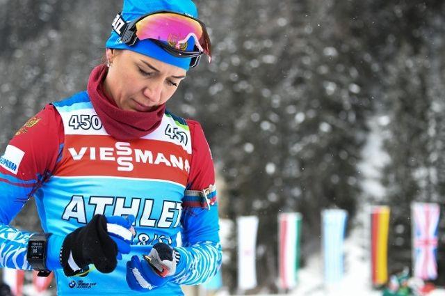 Участница этапа Кубка мира в Кэнморе Маргарита Васильева.