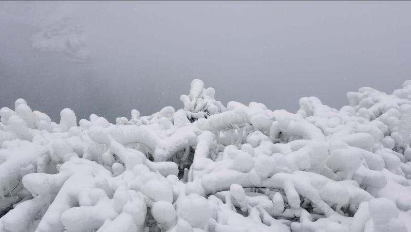 Американский водопад, один из трех водопадов, которые формируют комплекс Ниагара, последний раз замерзал в 1911-1912 годах.  В 1912-м он полностью замерз на 40 часов.