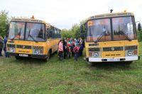 Тюменцам напоминают о безопасной перевозке групп детей