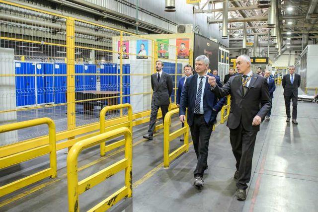 Александр Гусев и Аймоне ди Савойя Аоста посетили несколько производственных участков.