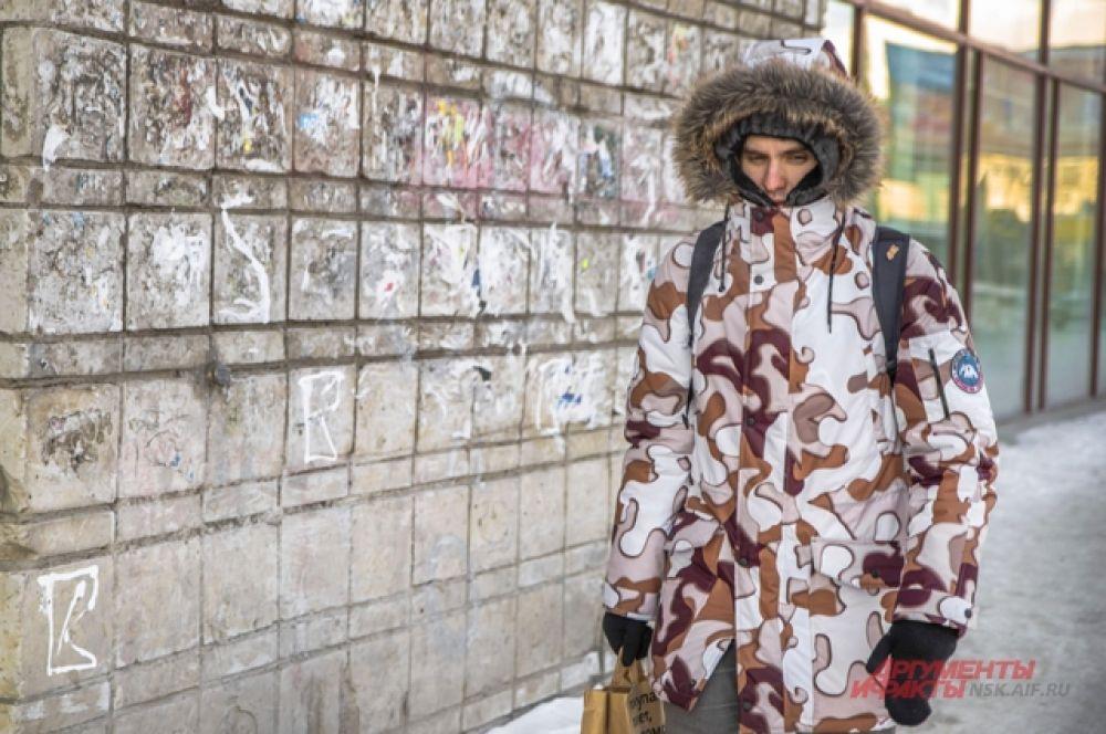 Город превратился в огромный морозильник — новосибирцы перемещаются по улицам перебежками.