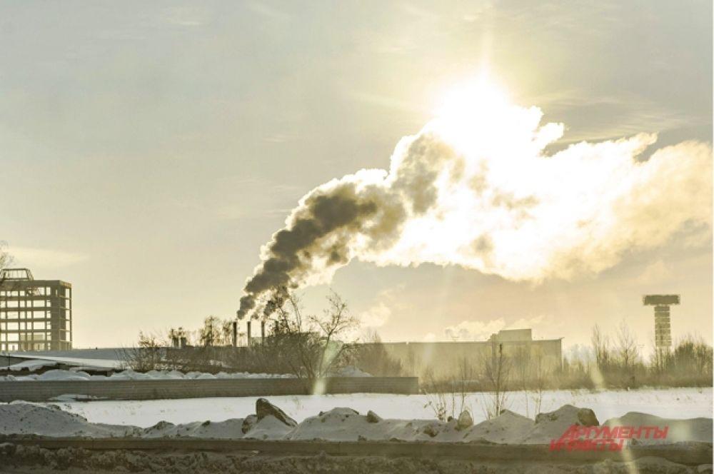 Из-за сильных морозов и отсутствия ветра в Новосибирске объявлен «режим чёрного неба» —предприятия должны перейти на режим ограничения выбросов веществ, загрязняющих атмосферу.