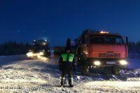 Автоинспекторы Муравленко помогли водителям, замерзающим на трассе