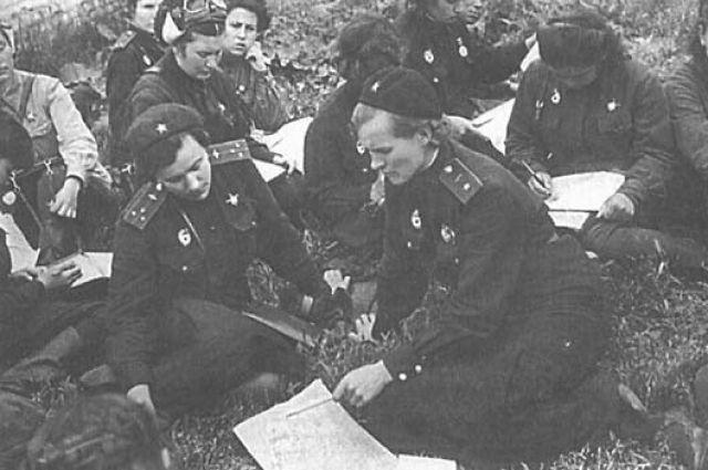 Полк Евдокии Бершанской до конца войны оставался чисто женским.