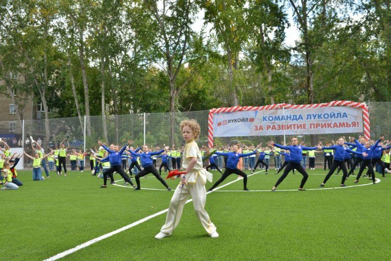 Осенью 2018 года открыли современный стадион в гимназии №1. На его строительство нефтепереработчики выделили 16,5 млн рублей.